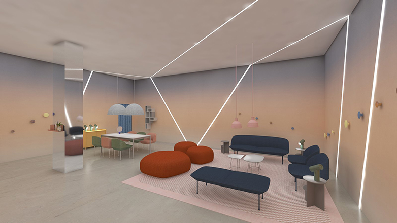 Isola alla Design Week 2019, Google, A Space for Being